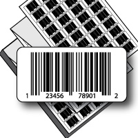 Preprinted Labels w/UPC Barcode - Fanfold